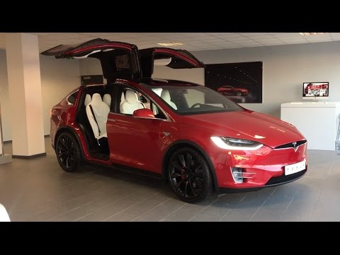 2017 Tesla Model X Exterior And Interior Walkaround Review