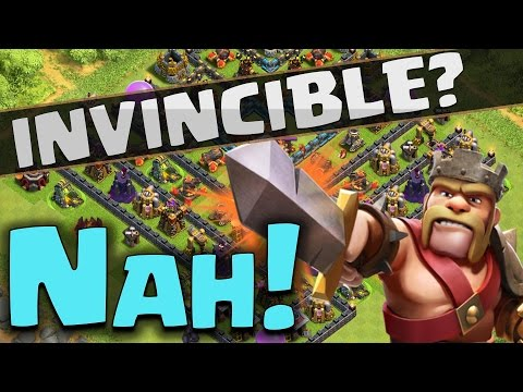 Clash of Clans: Beat Galadons 'Invincible V' Base! | 4000 Trophy Epic Gameplay!