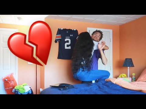 I REALLY BROKE UP WITH HER *SHE CRIED*