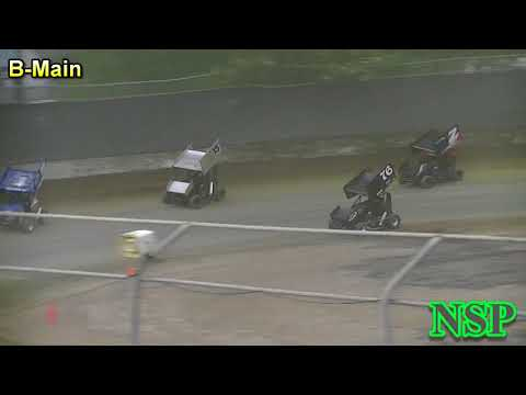 July 15, 2017 Clay Cup Nationals 600 Mini Sprints B-Main Deming Speedway