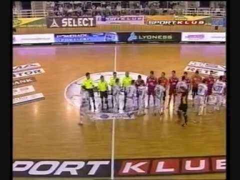 ElPozo Murcia  - Gödöllő (Futsal Cup 2006)