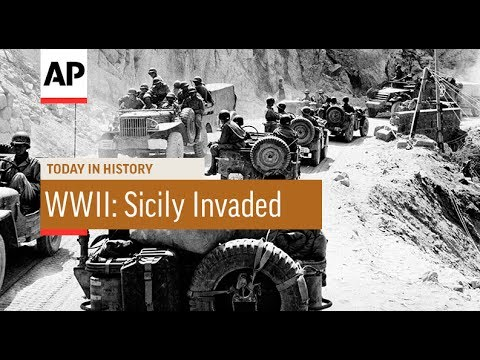 WWII: Sicily Invaded - 1943 | Today In History | 10 July 17