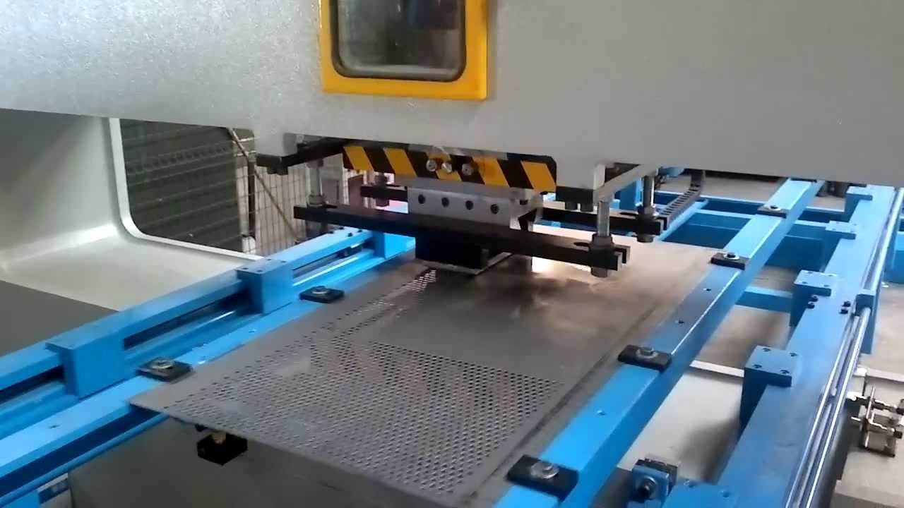 Multi Punch Hole Perforation Press Youtube
