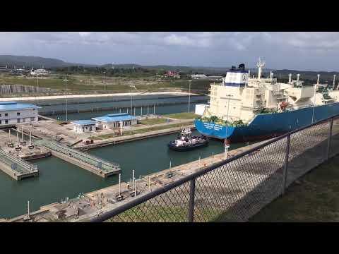 Dec 24 2018 Panama Canal - Caribbean