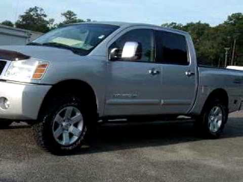 Sold 2005 Nissan Titan Le 4x4 Offro 32210 Duval Ford