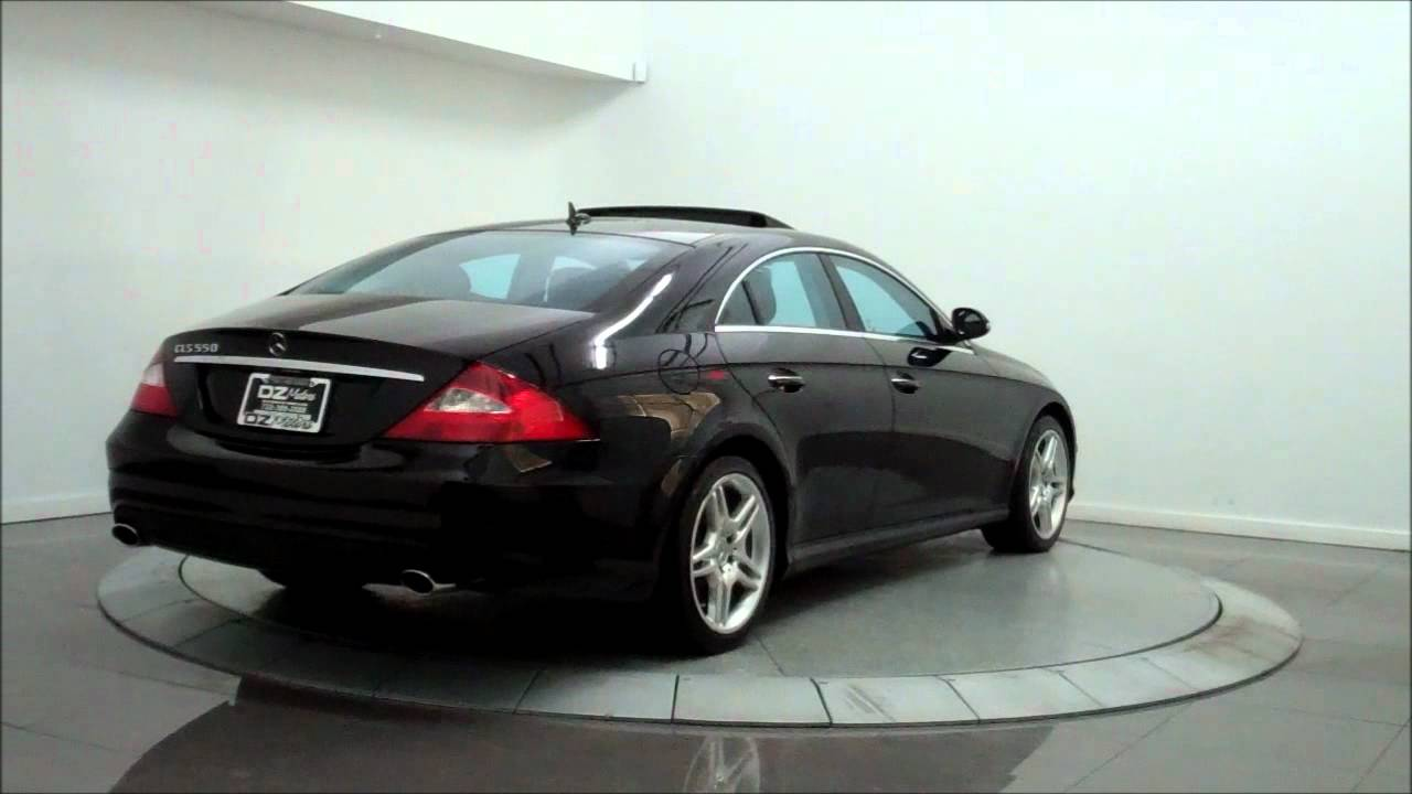2007 Mercedes Benz Cls550 Amg Sport Youtube