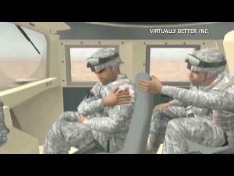 Virtual reality battles PTSD