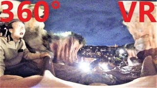 東京ディズニーランドのスプラッシュマウンテンを最前列で360度VR撮影。...