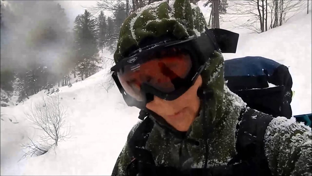 Download RoughStuff Haudegen Loden Anorak - When you do this kind of stuff, you need that kind of gear.