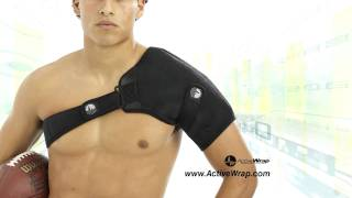 ActiveWrap - Eliminate shoulder pain with heat and ice packs, hot & cold therapy treatment