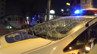 ДТП. Полиция Харькова сбила пешехода 22.03.2016