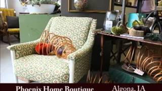 Algona Iowa's Phoenix Home Boutique on Our Story's The Celebrities
