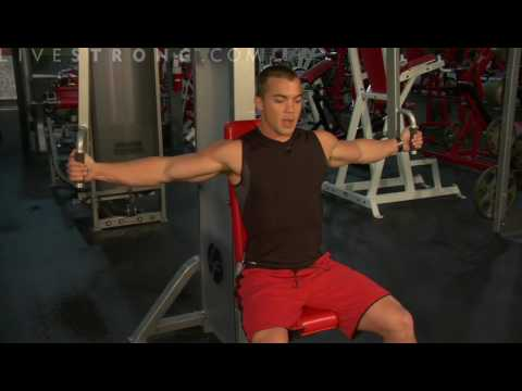 How to Do Chest Fly Exercises on a Machine