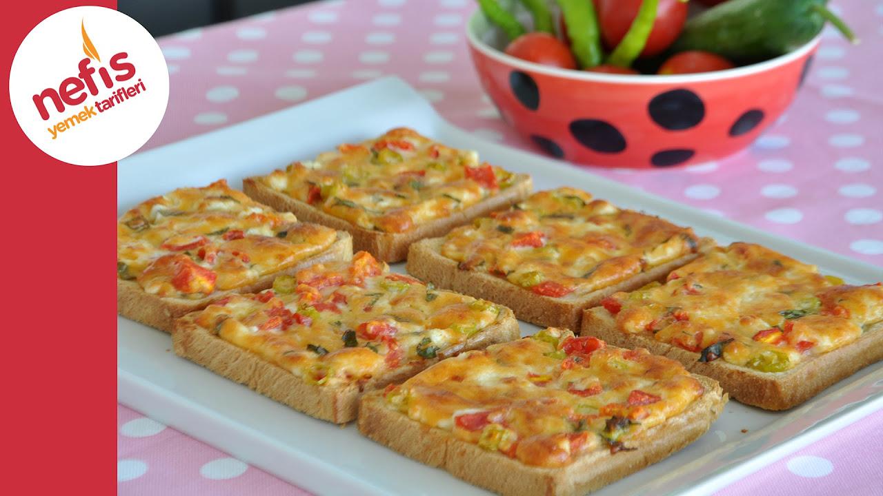 Şimdi Çıktı Fırından - Kahvaltılık Peynirli Kızarmış Ekmek
