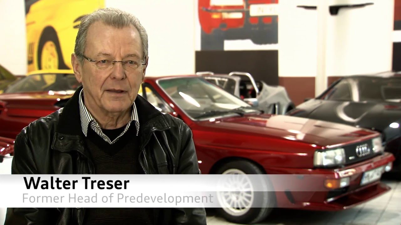 Audi Quattro History With Walter Treser YouTube - Walter audi