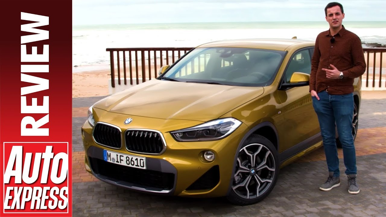 New BMW X2 review - small premium SUV driven for first time - Dauer: 3 Minuten, 34 Sekunden