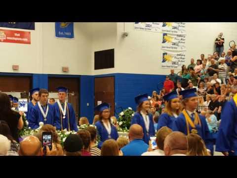 Eastern Hancock High School Graduation 2016
