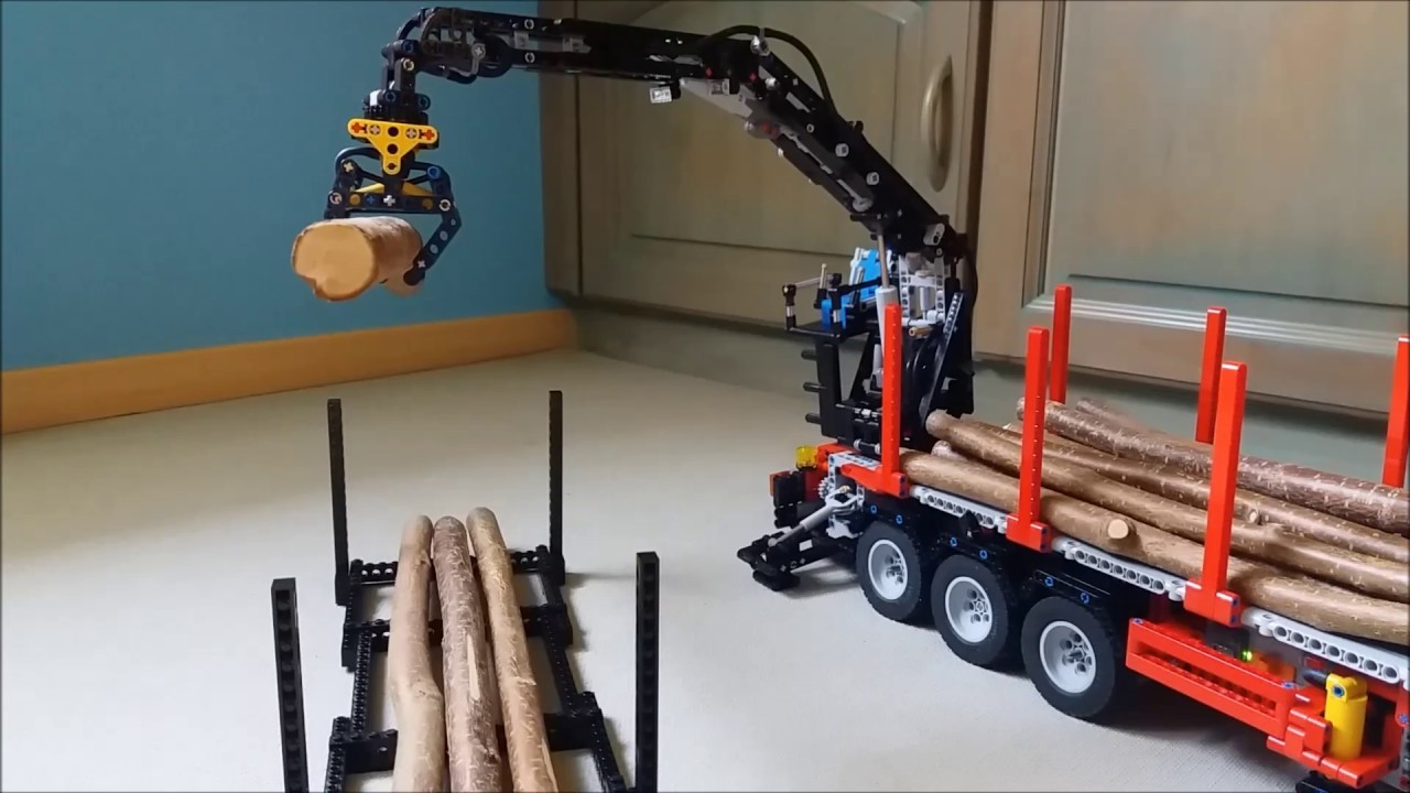 Très Lego Technic - Remorque Grumier - YouTube GK76
