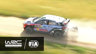 wrc 73rd pzm rally poland 2016 highlights stages 6 9