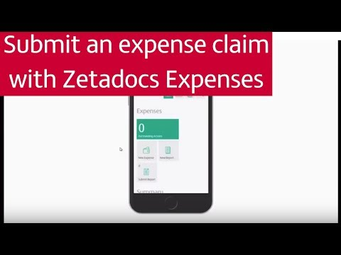 Submit an expense