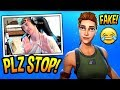 NINJA GETS *TRIGGERED* BY FAKE DEFAULT SKINS & TRYHARDS! Fortnite SAVAGE & FUNNY Moments