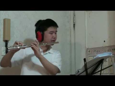 Flute 4th Octave Scales (C, C#, D, D#, E, F) on Yamaha 211 C-foot student model