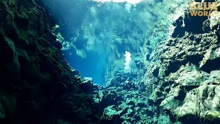 Скачать Diving Silfra Iceland JONATHAN BIRD S BLUE WORLD