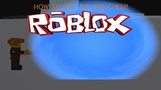 How to use the breaches as vibe or gyspy in Roblox CW flash showcase!