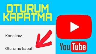 YouTube Uygulamasında Oturum kapatma, Android de YouTube Uygulamasından Hesaptan Çıkış Yapma  T.H.