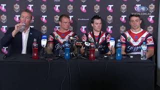 NRL Press Conference: Sydney Roosters - 2018 Grand Final