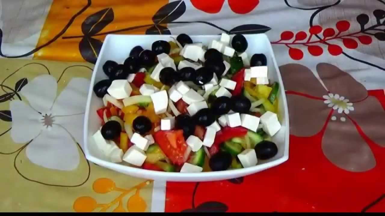 греческий салат рецепт фото рецепт