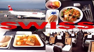 SWISS AIRLINES BUSINESS CLASS EXPERIENCE