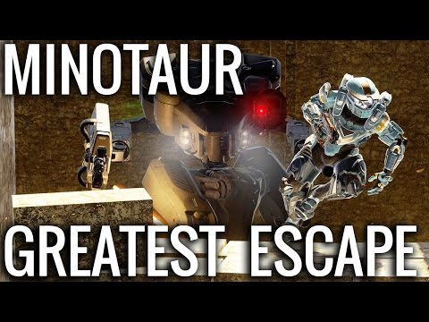 The Greatest Minotaur Escape!