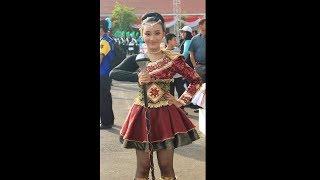 Gita SMANDA Band - SMAN 1 Pandaan- Start lomba drumband sumpah pemuda 2017
