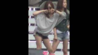 [Fancam] 100522 SNSD Tiffany Oh! Rehearsal @ Dream Concert 2010