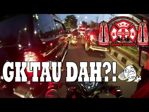 I.E.A Sidoarjo Escorting an Ambulance #20 Part 3/3, BINGUNG ?!#58 Motovlog