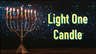 "Light One Candle   Hanukkah series ""Miracles""   Cantor Rev Misha Joy   Prayers of the Testaments™"
