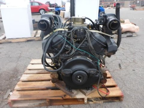 Mercruiser 454 7.4 Liter Complete Marine Motor | For Sale | Online Auction