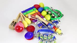 Musical Instruments for Toddlers : Wonyered 11pcs Music Instruments for Kids & Children