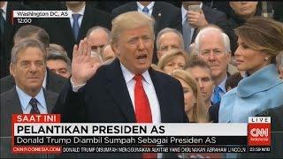 Pelantikan Donald Trump & Pidato Pertama sebagai Presiden Amerika Serikat | CNN Indonesia
