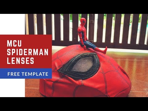 mcu spiderman lenses i tutorial i free template youtube