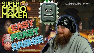 EASY PEASY DASHIE - Super Mario Maker - Dashie Games Levels with Oshikorosu!