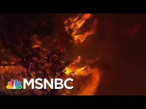 California Governor Declares Statewide Emergency Due To Wildfires   MSNBC