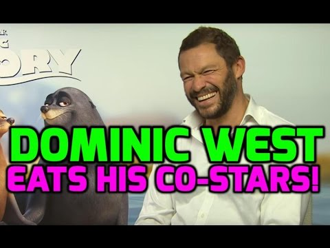 Finding Dory: Dominic West on eating costars & wearing faketan!