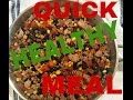 Quick and Healthy Turkey Skillet Meal
