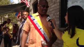 ¡Ras J. Baraka !!! .. Alcalde de Newark Nueva Jersey. Reportaje de Nicol Nivelo
