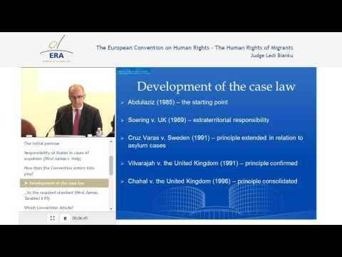 Recent ECtHR case law in asylum law