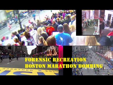 Forensic Recreation Boston Marathon Bombing 2013
