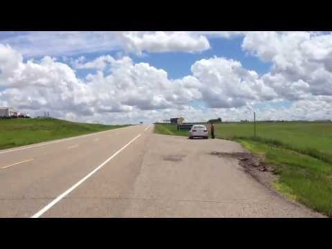 On The Border of Alberta and Saskatchewan