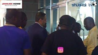 VIDEO: Manji Alivyowasili Uwanja wa Taifa kuwashika mkono Yanga